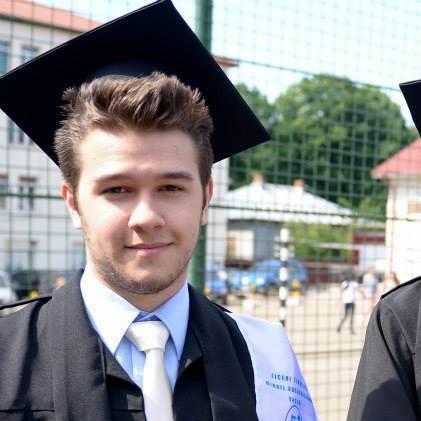 Student admis la universitate UK